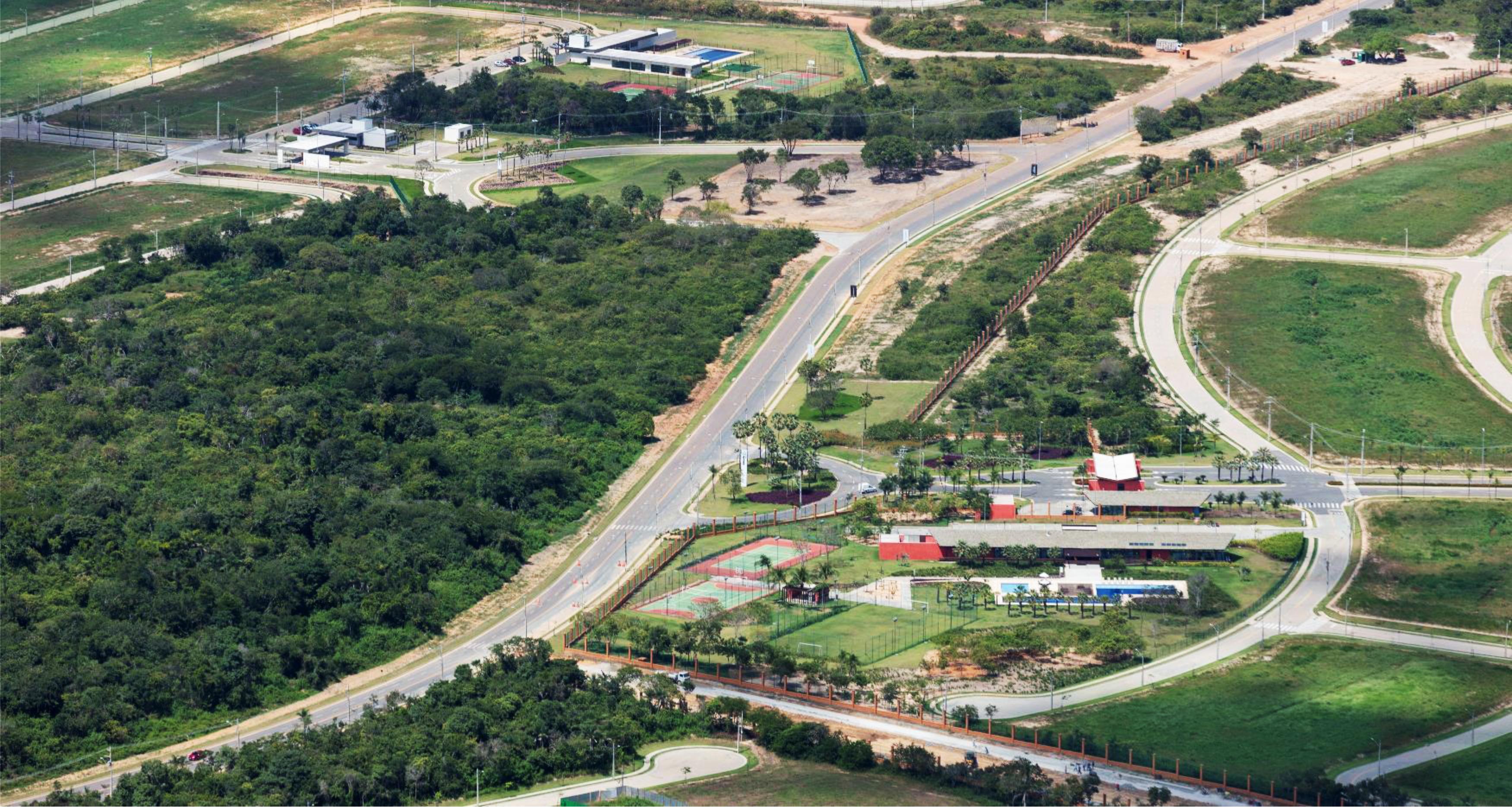 Imagem Aérea da Cidade Alpha Ceará e Terras AlphaVille Ceará 4