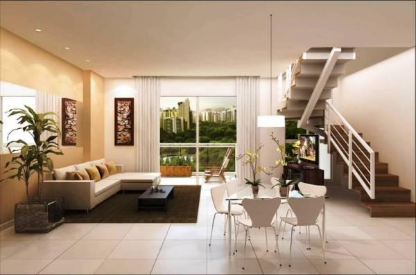 apartamento triplex com bela vista